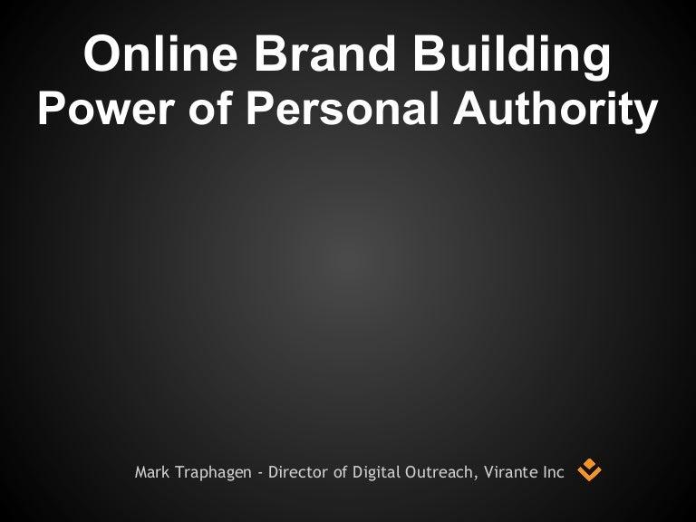 Building Personal Brand Authority Online via Content & Social SEO