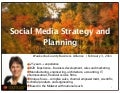 Social media strategy and planning waukesha county business alliance