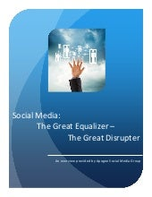 Social Media: The Great Equalizer a...
