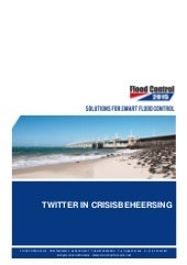 Social media: Twitter in crisisbehe...