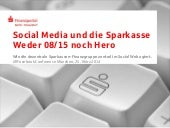 Social Media und die Sparkasse @ AllFacebook Marketing Conference