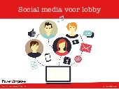 Social media voor lobby   Wemos hand out