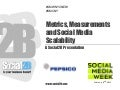 Social Media Week Presentation from Social2B -  Metrics, Measurements and Scalability