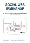 COURSEWARE: Social Media and PR Crisis Communication