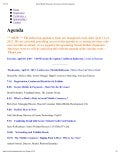 Social Mobile Payments: Conference Agenda - April 11-12, 2012