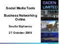 Social Media Tools - Business Networking Online