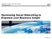 Social Networking For Business Inte...