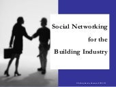 Social Networking For The Building ...