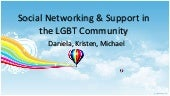 Social networking & support in the ...