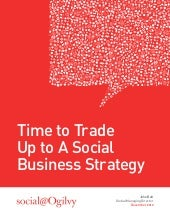 Time to Trade Up to A Social Business Strategy