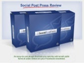 [GET] Social Post Press Best Review...
