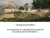 Framing Social problems 1