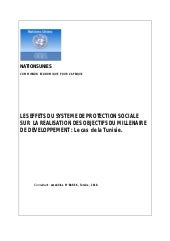 Social protection  and the   achiev...