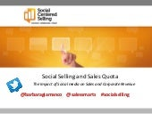 Social Selling and Sales Quota