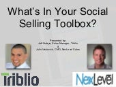 What's In Your Social Selling Toolbox?