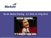 Social Media Sharing - It's Kind of...