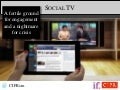 Social summer 15  social tv 20 september final