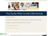 Social Web for Early Elementary