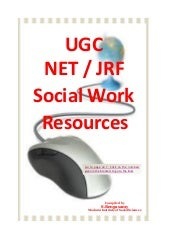 UGC/NET/JRF-Social Work Syllabus an...