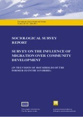 Sociological survey report