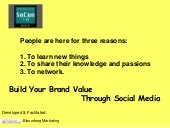 Social Media Builds Brand Value