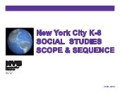 NYC Social Studies Scope and Sequen...