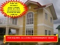 Sofia model in governor's hills subd, house and lot for sale very affordable