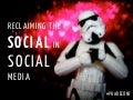 Reclaiming social in social media (Phareconference)