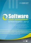 Software Asset Management Strategies 2012