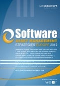 Software Asset Management Strategies Europe 2012 Agenda