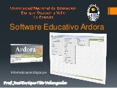 Software educativo ardora