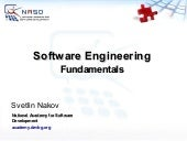 Software Engineering Fundamentals S...