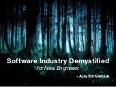 Software Industry Demystified for N...