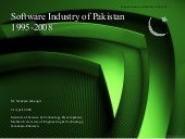 Software industry of pakistan 1995 2008