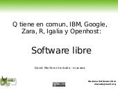 Software Libre En Empresas