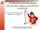 Software libre linux