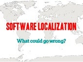 Software Localization: What could g...