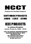 Software Projects Java Projects Learning Technologies