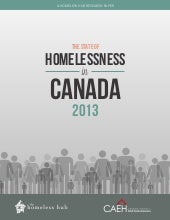The State of Homelessness in Canada...