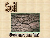 Soil.ppt level one