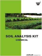 Soil Analysis Kit by ACMAS Technolo...
