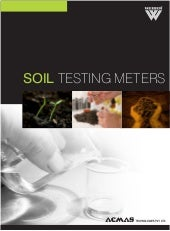 Soil testing meters by ACMAS Techno...