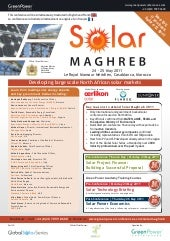 NEW Solar Maghreb 2011 Brochure