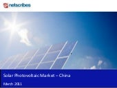 Market Research Report : Solar Phot...