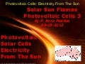 Solar Sun Flames Photovoltaic Cells 3