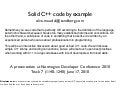 Solid C++ by Example