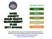 Cook County Solid Waste Management ...