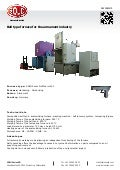 Bell type furnace for the armament industry