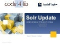 Solr Update at code4lib '13 - Chicago