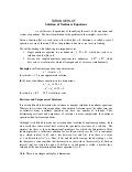Solution of nonlinear_equations